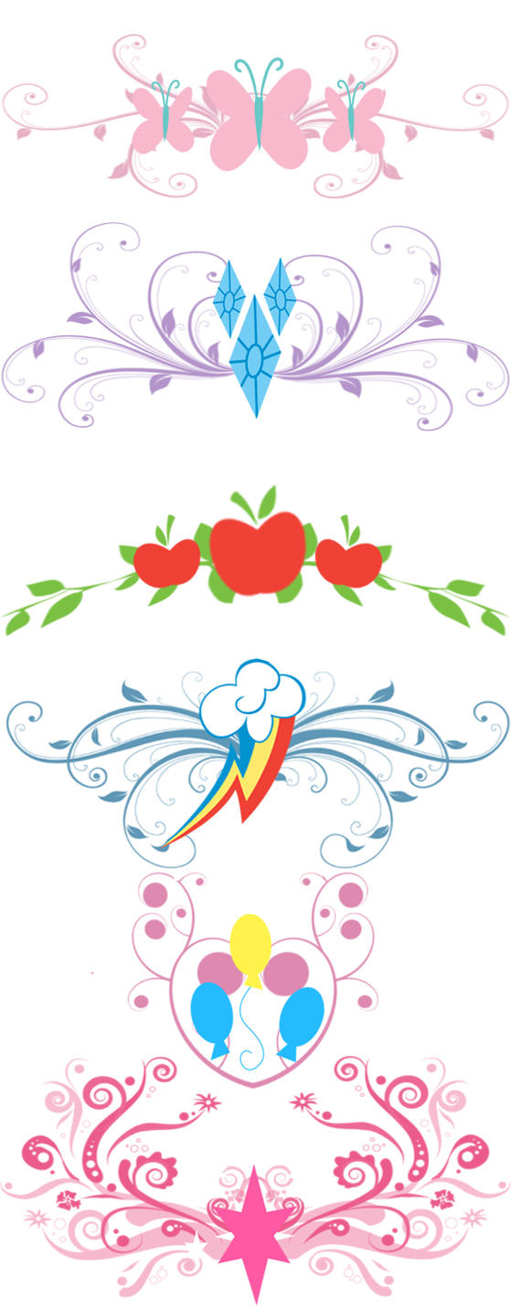 mlp tramp stamp templates by zoe productions on deviantart. Black Bedroom Furniture Sets. Home Design Ideas