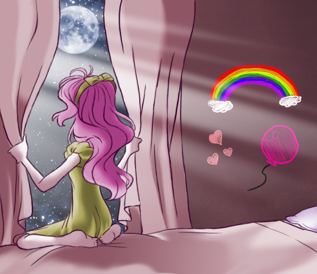 MLP - Pink Night by ZOE-Productions
