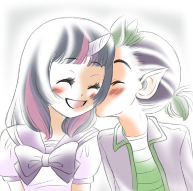 MLP - Purple and Green by ZOE-Productions