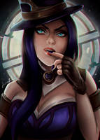 Caitlyn - League of legends by joacoful