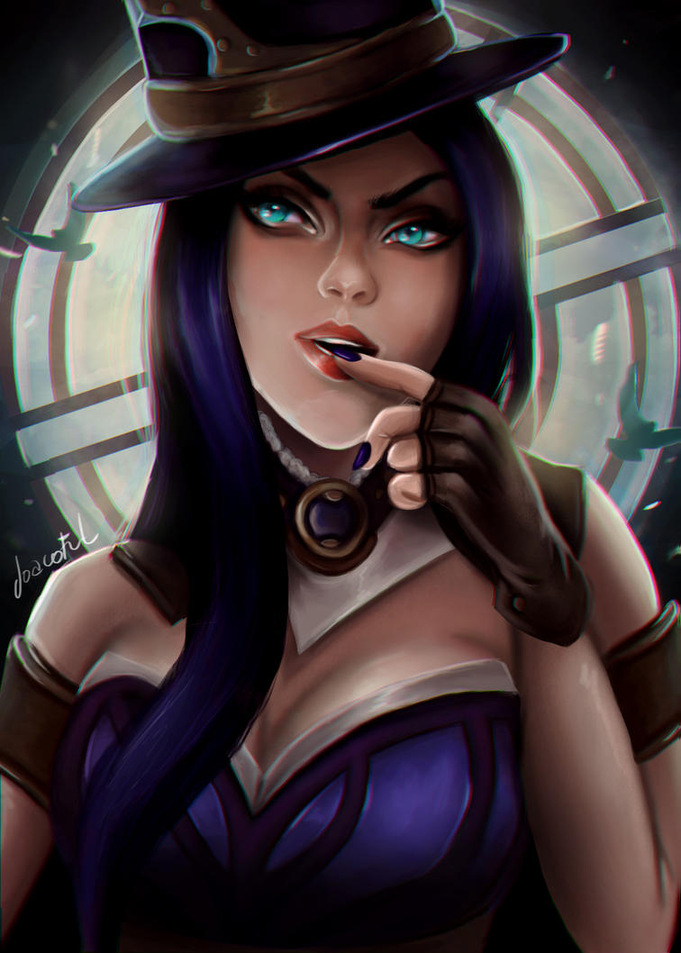 Caitlyn - League of legends by joacoful on DeviantArt