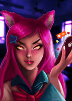 Academy Ahri by joacoful