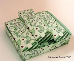 PoP Display Choxie Green Tea by saiyanbutterfly