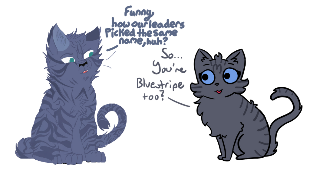 Blue Stripped (Warrior Cats Collab) by AveryCF on DeviantArt