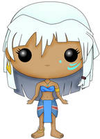 Funko Fan Art- Princess kida- Atlantis by CSF-Designs