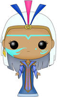 Funko Pop Fan Art- Atlantis- Queen Kida by CSF-Designs