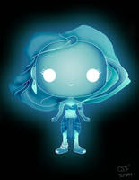 Funko Pop Fan Art- Crystal Kida by CSF-Designs