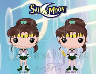 Funko Pop Fan Art- Sailor Jupiter
