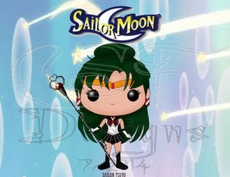 Funko Pop Fan Art- Sailor Pluto