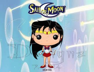 Funko Pop Fan Art- Sailor Mars