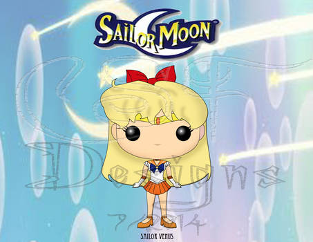 Funko Pop Fan Art- Sailor Venus