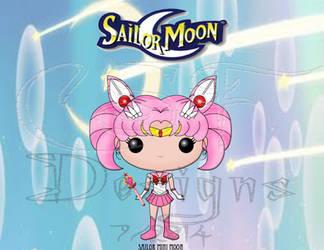 Funko Pop Fan Art- Sailor Mini Moon