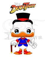 Funko Fan Art- Scrooge McDuck