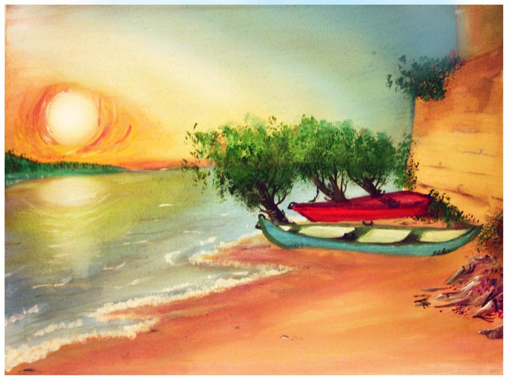 warm waterside by yzarc