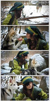 .: Bounding With Wolf-cub :.