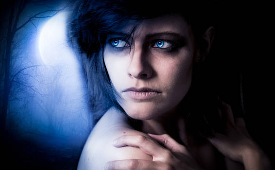 Bright Blue Eyes - Project Werewolf