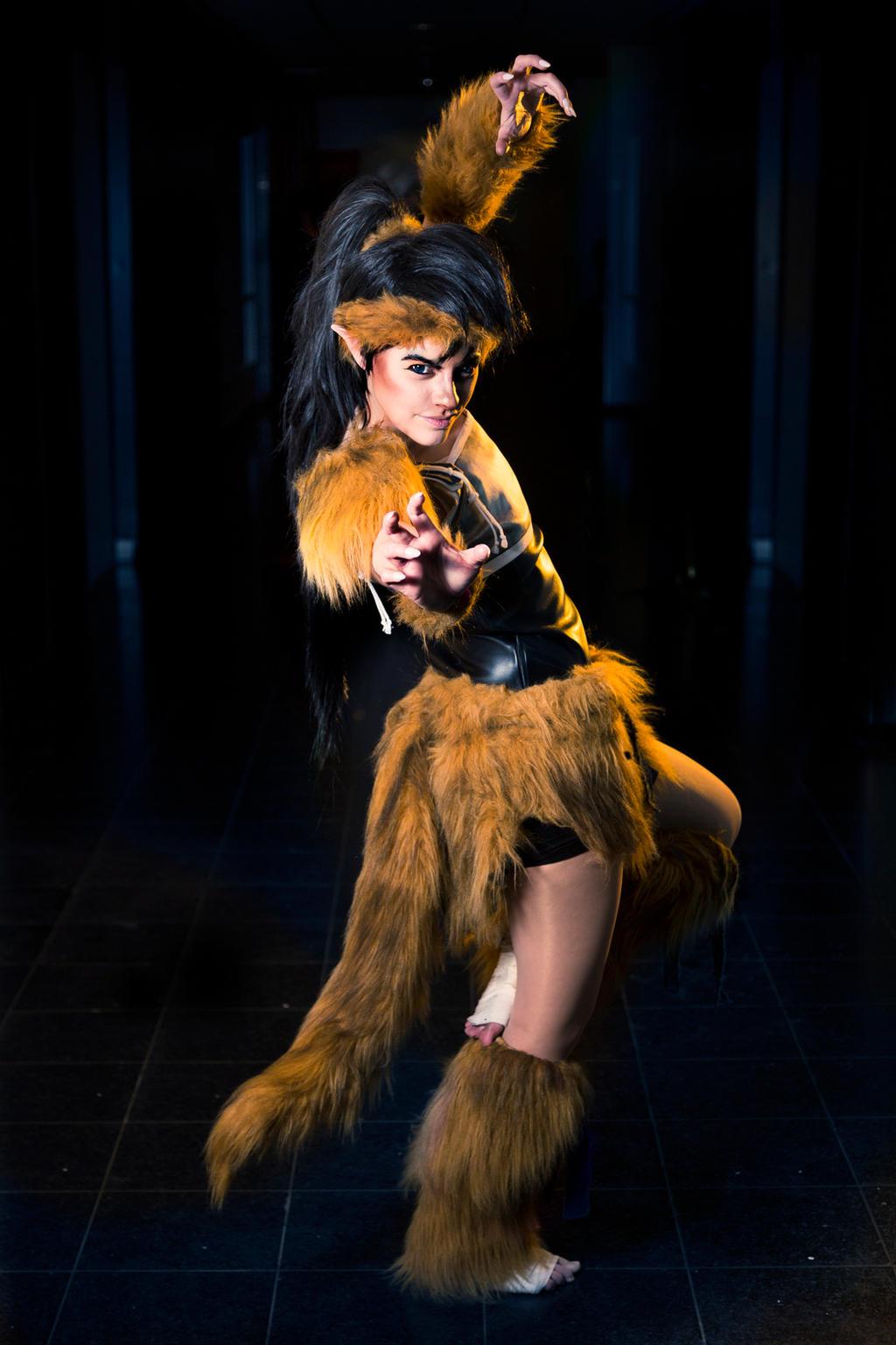Kouga Of The Demon Wolf Tribe