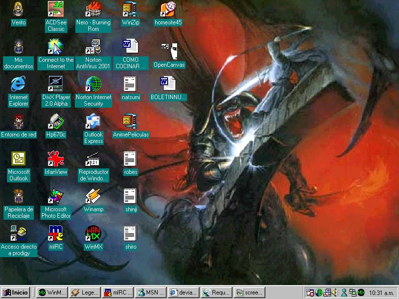 Avencri desktop