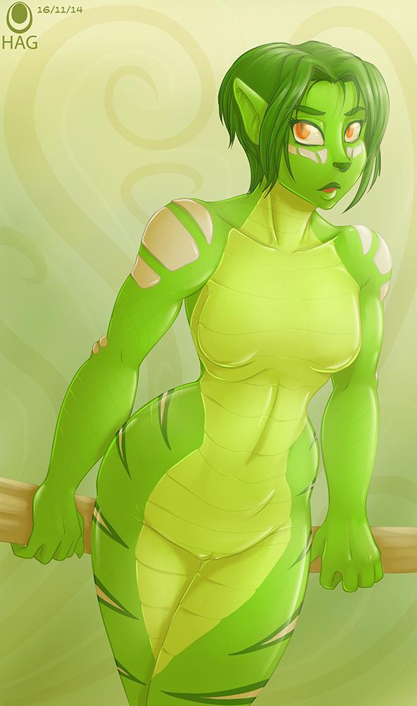 Green Greens!! by avencri