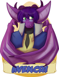 Avencri MFF 2018 Badge by avencri