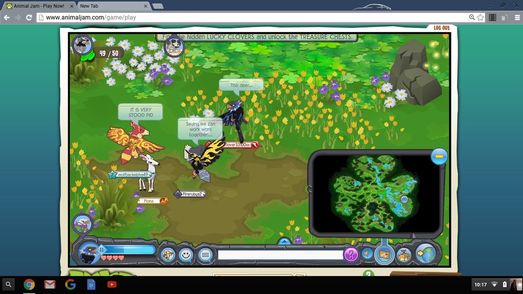 Omg This Is Funny Animal Jam Screenshot By Wolfloveraj