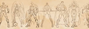 Justice League Big 7 Redesign