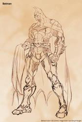 Batman by Kougen
