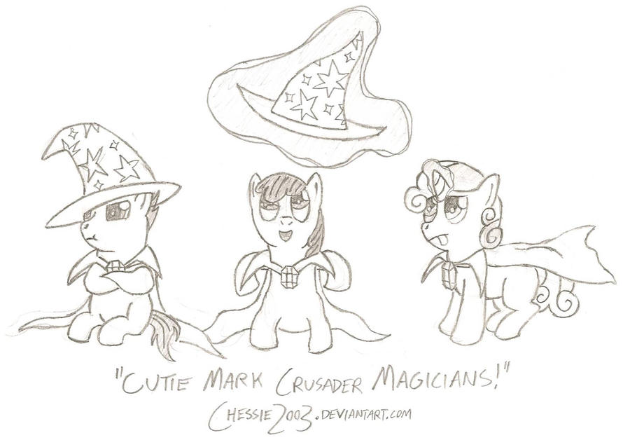 Day 3 - Pony Dressed as Trixie by Chessie2003