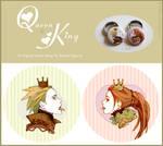 Queen + King - Button design by DarkSunRose