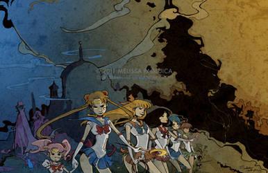 Dark Side of the Moon by DarkSunRose