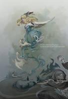 Swan Dance by DarkSunRose