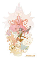 Adventure Time tribute by DarkSunRose