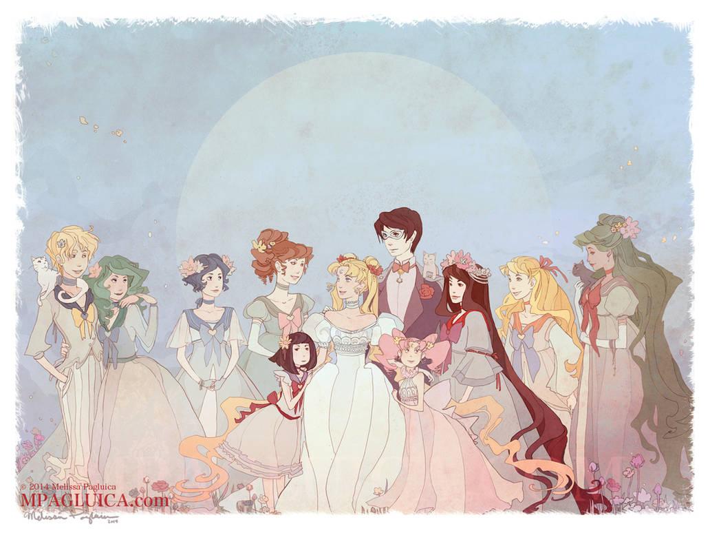 Moon Court by DarkSunRose