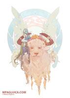 Spring Bull by DarkSunRose