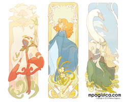Above the Clouds bookmarker set