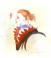 Oo.portrait of a girl.oO by DarkSunRose