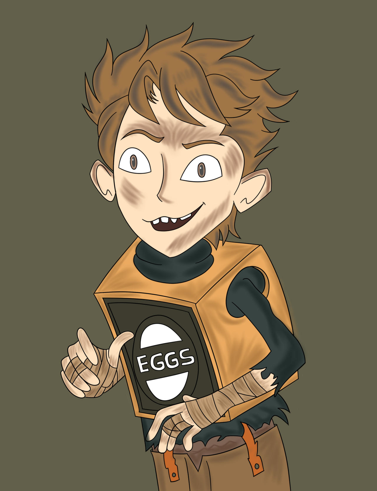 boxtrolls: for me eggs it life. by mxaca1967