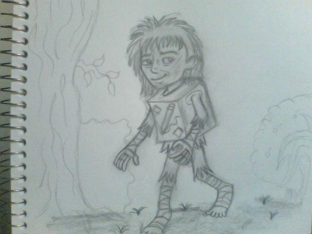 boxtrolls: me it just drawing. by mxaca1967