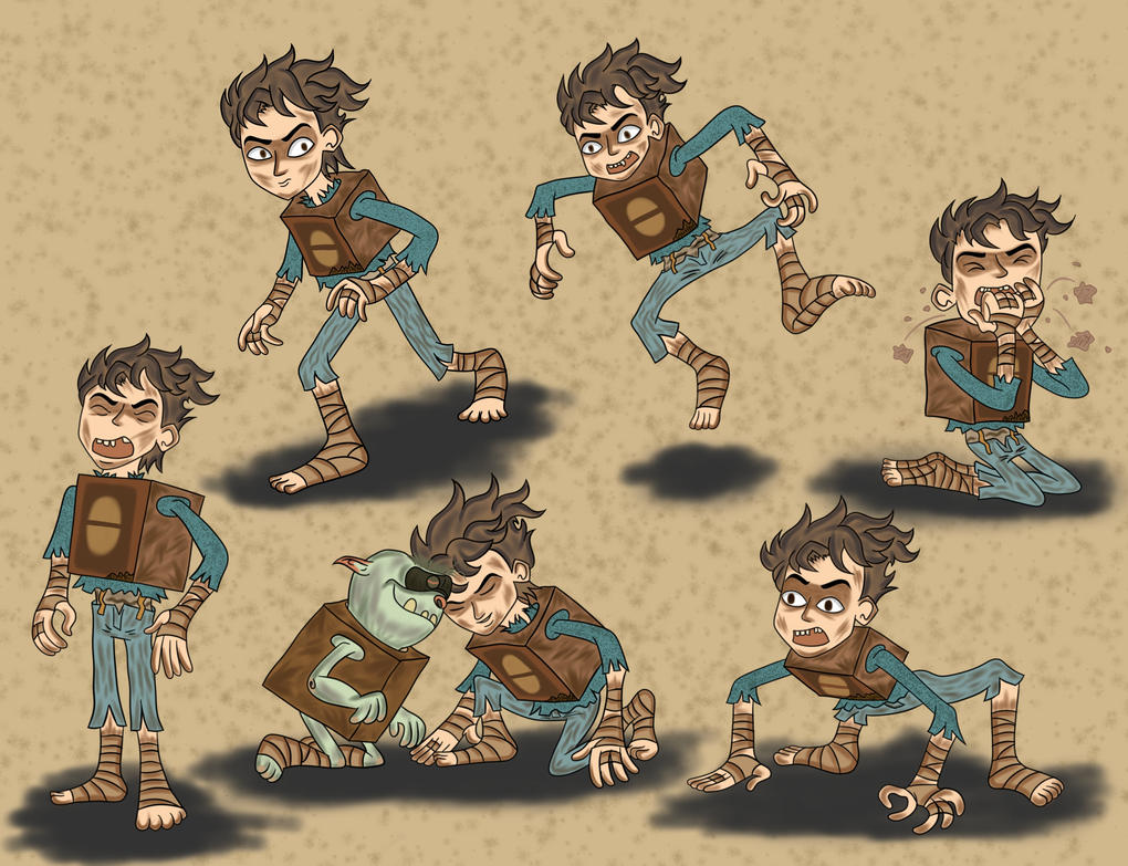 the boxtrolls: fish it life boxbaby by boxeggsfish