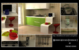 Modern Kitchen BY   fahadkhan by DigitalArtNetwork