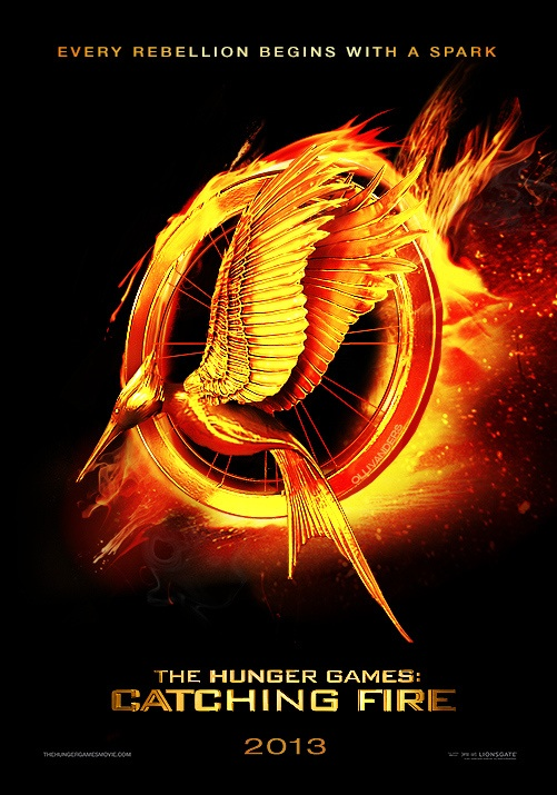 the hunger games catching fire logo by beautifulwarri0r
