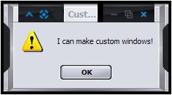 Custom Window's Programming by brianmccumber