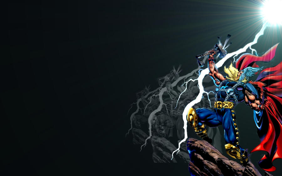 Thor Widescreen Wallpaper by brianmccumber on DeviantArt