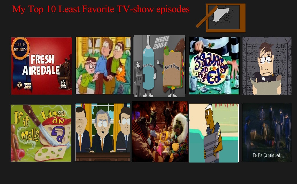 K-Dog0202's top 10 Worst TV Episodes Ever part 2 by K-dog0202