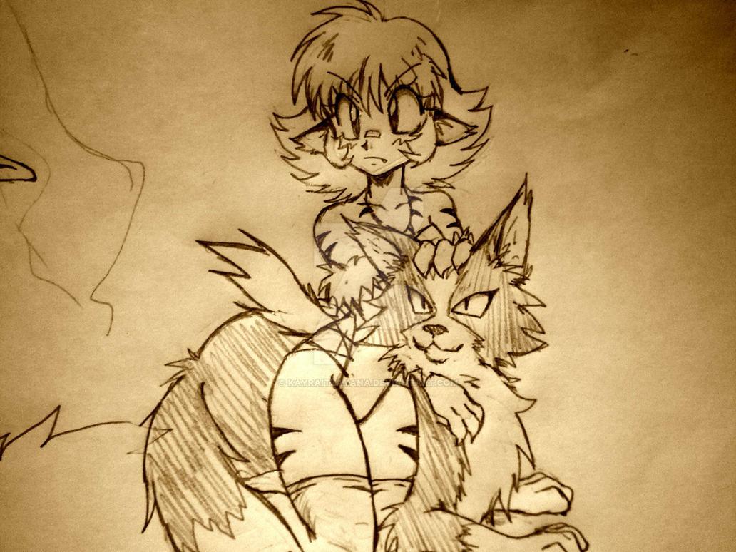 Girlwolf by KayraItzayana