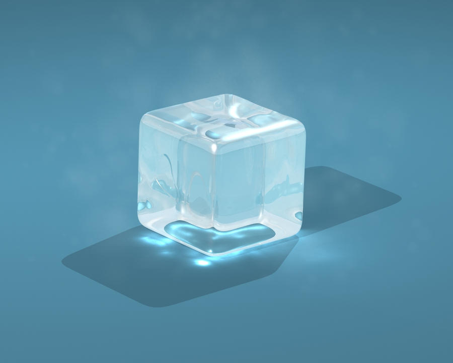 one ice cube by mikeandlex