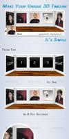 3D Facebook Timeline Cover
