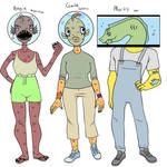 Angie, Gale and Morty