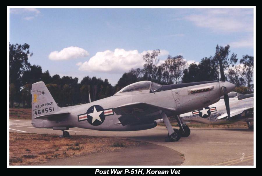 P-51 H ,Korean War Vet by GreyWolfeRun