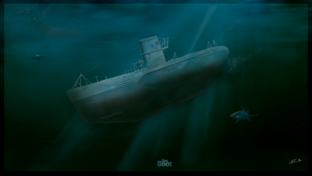 U-96 by GreyWolfeRun